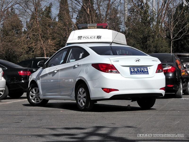北京现代 瑞纳 瑞纳 2014款 三厢 1.4l 自动时尚型gs 车身外观