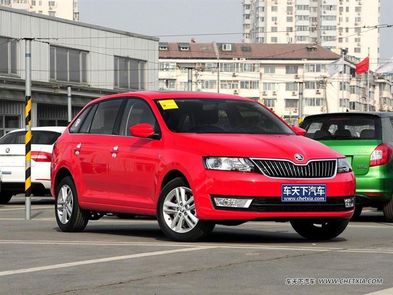 上海大众斯柯达 昕动 昕动 2014款 1.4t 自动致享版 车身外观