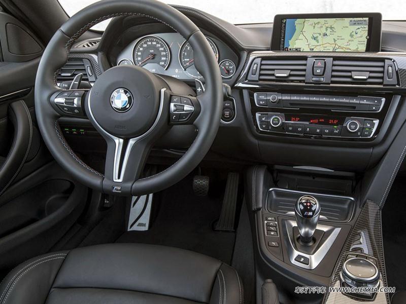 【图】宝马m4 2014款 m4双门轿跑车中控方向盘图片786