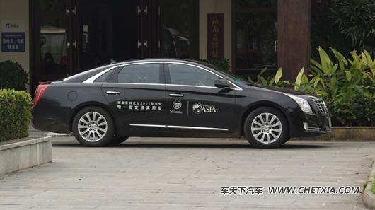 凯迪拉克xts(报价参数图片论坛)正在力图拓展国内公务行政豪华轿车